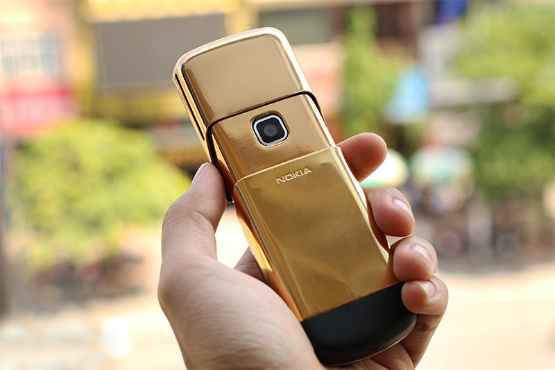 Nokia 8600 Luna ma vang 24K| Giá điện thoại N8600 mạ vàng tại Tp HCM, Hà Nội
