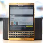 Karalux giới thiệu BlackBerry Passport Silver mạ vàng 24K