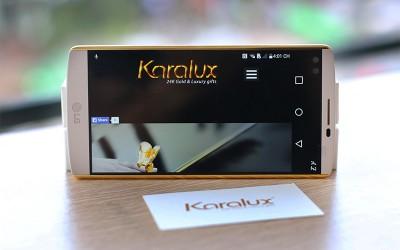 Mạ vàng điện thoại iPhone 6s, ip7, Samsung note 5,6, BlackBerry tại Time City Hà Nội