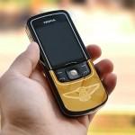 Karalux giới thiệu mẫu Nokia 8600 mạ vàng mới lạ