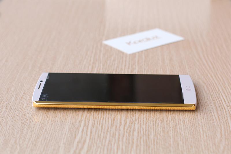 LG V10 ma vang 24K, Karalux giới thiệu điện thoại LG V10 mạ vàng 24K tại Việt Nam