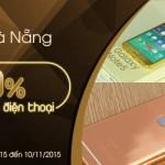 Khuyến mại tại Đà Nẵng: Giảm 50% khi mạ vàng điện thoại