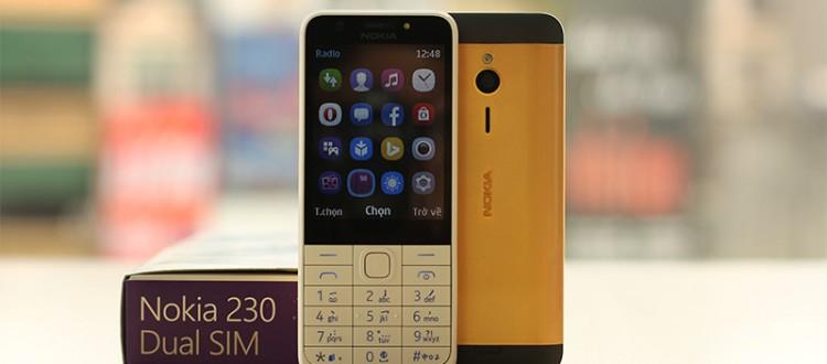 Nokia 230 ma vang 24K, Giá Điện thoại N230 Gold mạ vàng 24K tại Hà Nội | Karalux