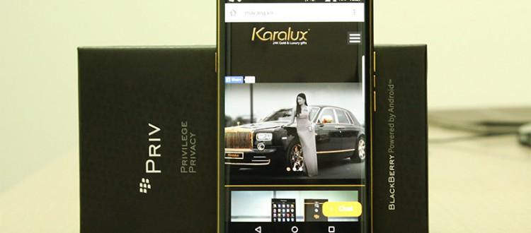 BlackBerry Priv tear down guide   Karalux Vietnam