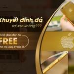 Mạ vàng cho iPhone 6s tại Hà Nội, nhận nhiều quà khủng