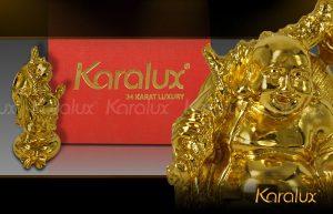 Giá bán tượng Phật Di lặc trên túi tiền mạ vàng 24k