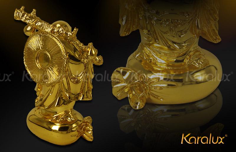 Điểm trưng bày tượng Phật Di lặc mạ vàng tại Hà Nội, Tp HCM