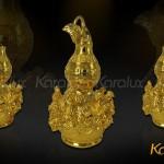Ý nghĩa Hồ lô bát tiên mạ vàng mang thương hiệu Karalux