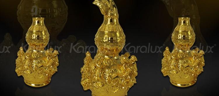 Hồ lô bát tiên bằng vàng, thu hút tà khí, đem lại may mắn
