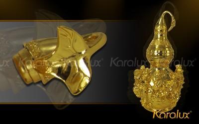 Ý nghĩa vật phẩm phong thủy Hồ lô bát tiên mạ vàng 24k