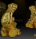 Mô hình khỉ phú quý mạ vàng 24k làm quà tặng sếp, đối tác, người thân 2016