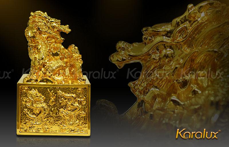 Giá bán Dấu rồng mạ vàng 24k tại Hà Nội, Tp HCM