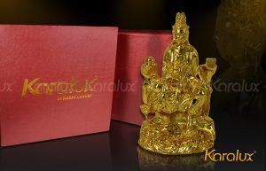 Quan am bo tat, Tượng Phật bà Quan Thế Âm mạ vàng 24k