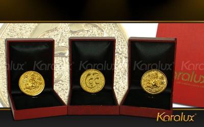 Đồng xu Kim Thân mạ vàng 24K mang lại tài lộc, sung túc