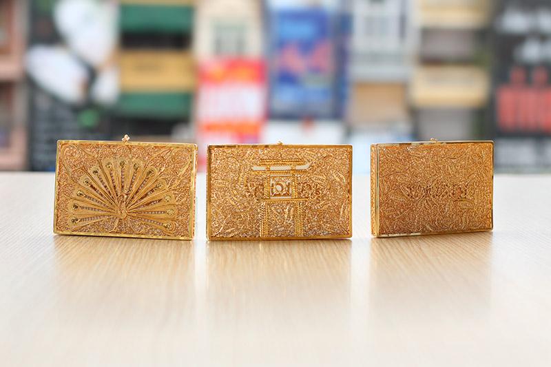 Hộp Namecard mạ vàng 24K