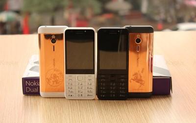 Nokia 230 mạ vàng hồng độc đáo và khác lạ