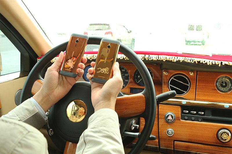 Nokia 230 mạ vàng hình Khỉ, giá mạ vàng 24K cho điện thoại N230