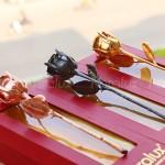 Hoa hồng mạ vàng của Karalux: Quà tặng ngày Quốc tế phụ nữ 8/3 ý nghĩa