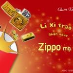 Chương trình lì xì trao tay – nhận ngay Zippo mạ vàng
