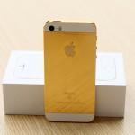 iPhone SE mạ vàng 24K đầu tiên trên thế giới
