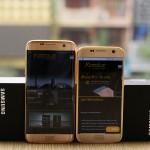Video cận cảnh Samsung Galaxy S7 và S7 Edge mạ vàng đẳng cấp