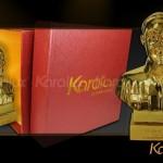 Chiêm ngưỡng tượng Bác Hồ mạ vàng độc đáo bởi Karalux