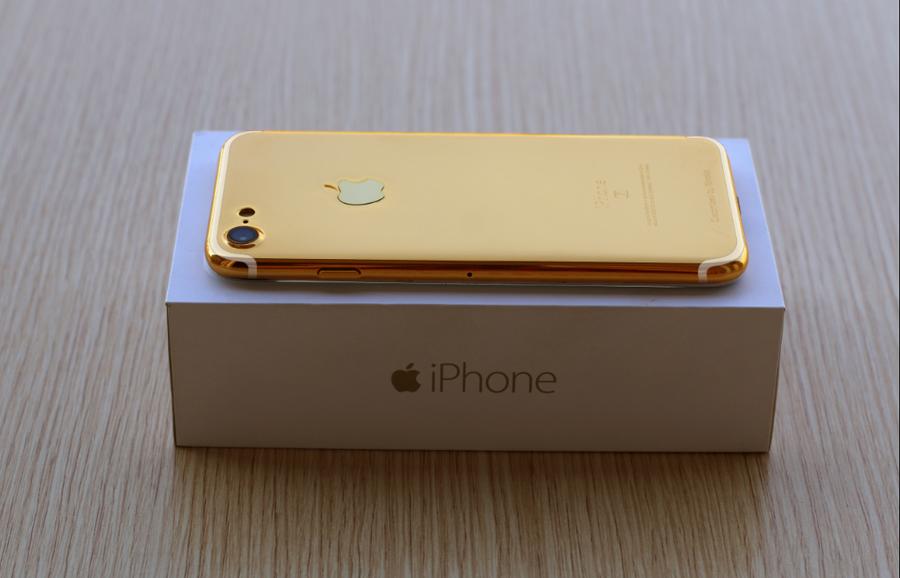 Karalux công bố giá bán iPhone 7 mạ vàng 24K tại Hà Nội, Tp HCM, Việt Nam
