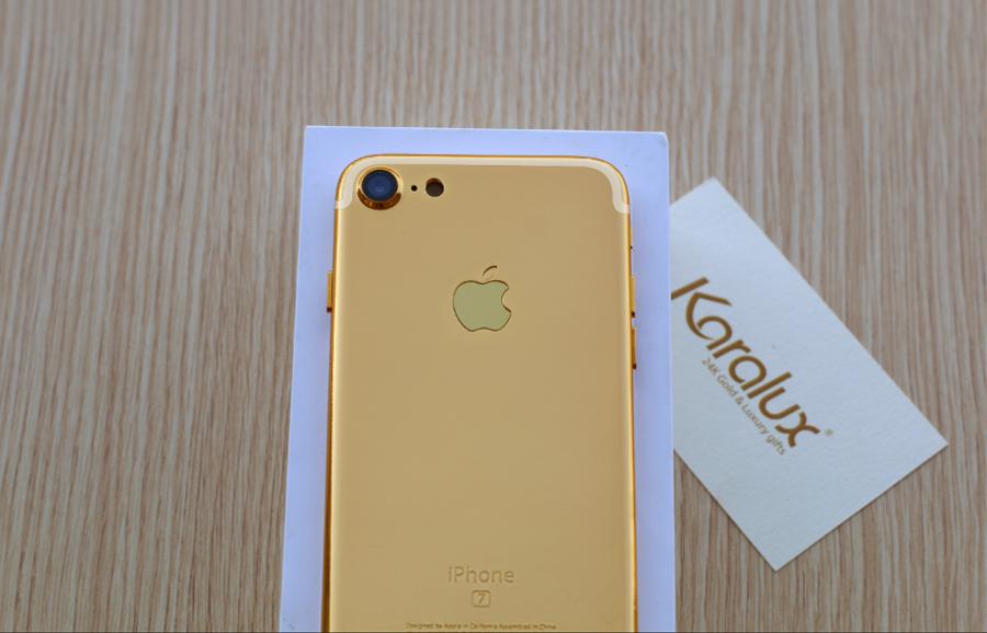 Gold iphone 7 pro, giá bán iPhone 7 plus mạ vàng 24K