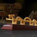 Karalux giới thiệu Cầu Rồng Đà Nẵng mạ vàng độc đáo