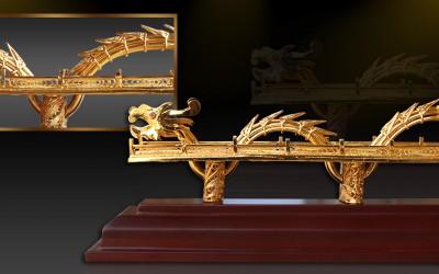 Cầu Rồng Đà Nẵng mạ vàng 24K, Karalux giới thiệu quà tặng biểu trưng của tp Da nang