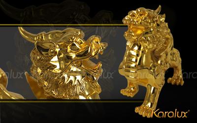 Các loại quà tặng phong thủy mạ vàng 24K bán chạy trong tháng cô hồn