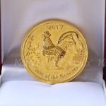 Đồng Lộc vàng Kim Kê làm quà tặng tết Đinh Dậu 2017