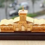 Karalux cho ra mắt mô hình chợ Bến Thành mạ vàng