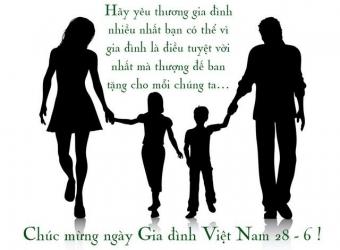Những lời chúc hay ngày Gia đình Việt Nam
