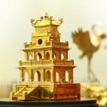 Karalux giới thiệu Biểu tượng của Thủ Đô – Mô hình Tháp Rùa mạ vàng