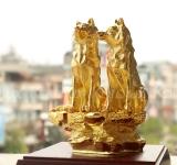Các mẫu tượng Linh Khuyển mạ vàng đẹp nhất