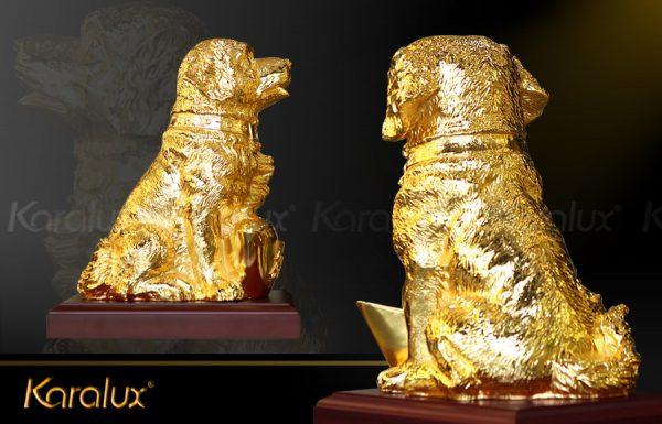 Tượng chó Nhật Gia Khuyển An Khang