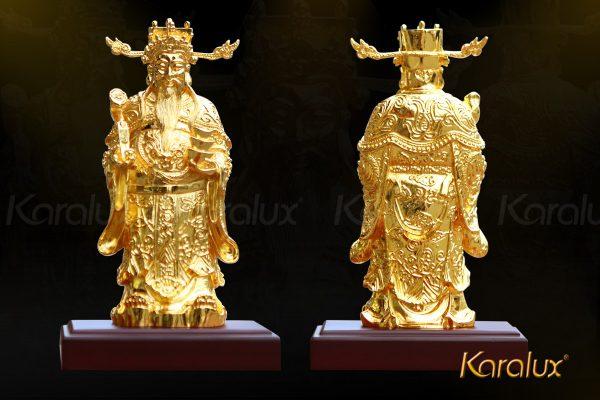 Tượng thần tài mạ vàng đẹp