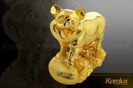 Tượng heo vàng Bảo Kim mạ vàng 24K
