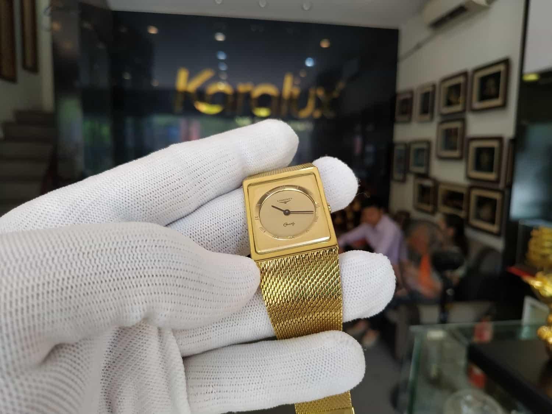 Đồng hồ cổ Longines được xử lý và làm mới lại long lanh