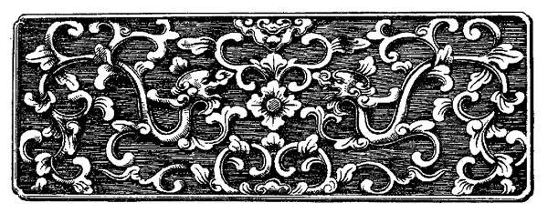 Hoa văn cung đình Huế cành lá hóa long là cảm hứng để nghệ nhân Karalux thiết kế mẫu bút ký độc đáo