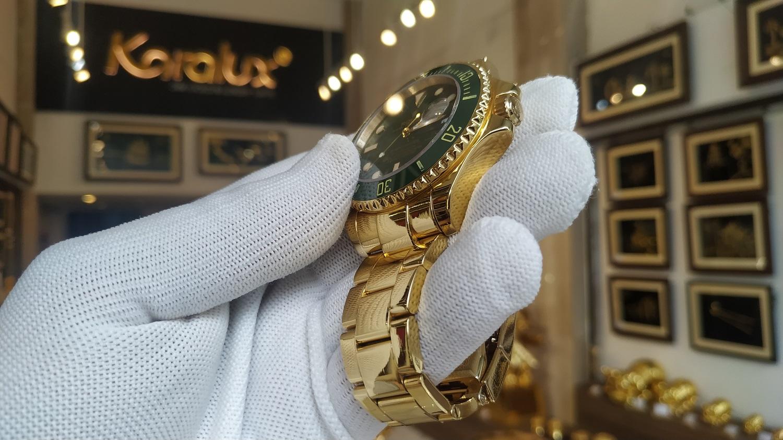 Đồng hồ Rolex mạ vàng cứng Pre Gold 18K