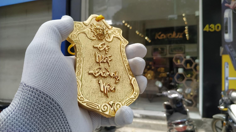 Lệnh bài Đệ Nhất Đường Môn mạ vàng 24k