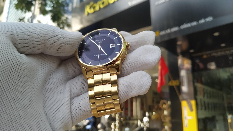 Đồng hồ Tissot 1853 đẳng cấp với phiên bản mạ vàng Pre Gold 18K